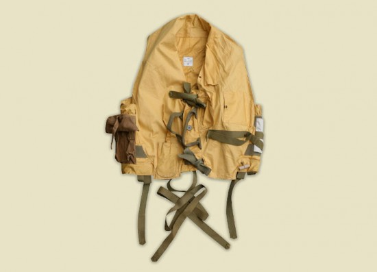 Some select items from the 4000 piece vintage collection in the Nigel Cabourn studio clothing vintage uk LONG JOHN (3)