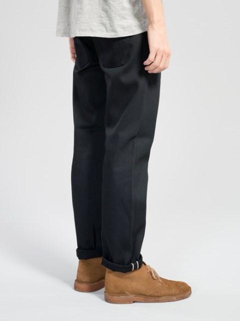 Steady-Eddie-Black-Selvage-Denimopedia_6 long john blog nudie jeans sweden maria 2015 fit selvage selvedge worn-out warps weft shuttle loom old worn vintagte  (7)