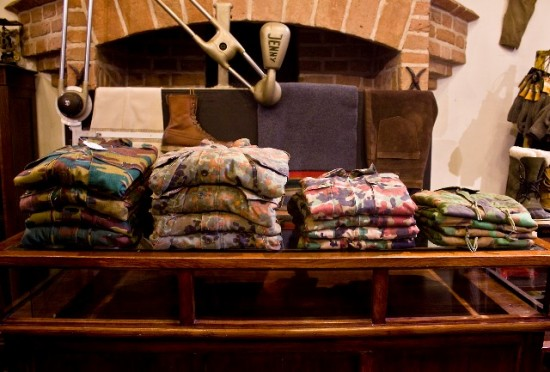The Globe Arnhem shop store Holland Harry Wonder authentic shop vintage army clothing Rijnstraat LONG JOHN (1)