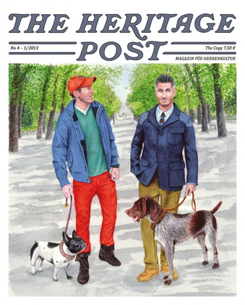 The Heritage Post magazine authentic gear clothing Germany Dusseldorf Uwe van Afferden LONG JOHN