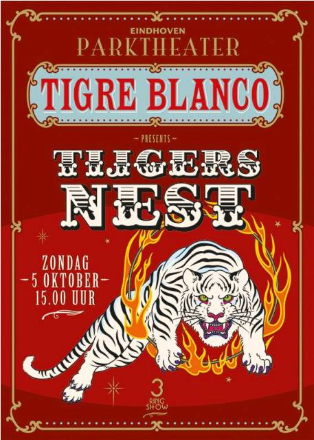 Tigre Blanco cd eindhoven long john blog music artist quintijn lohman