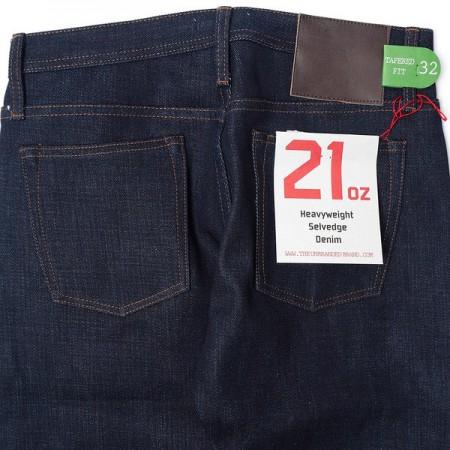 Unbranded jeans denim 221 21 Oz. Indigo Tapered Rue + State webshop LONG JOHN  (4)