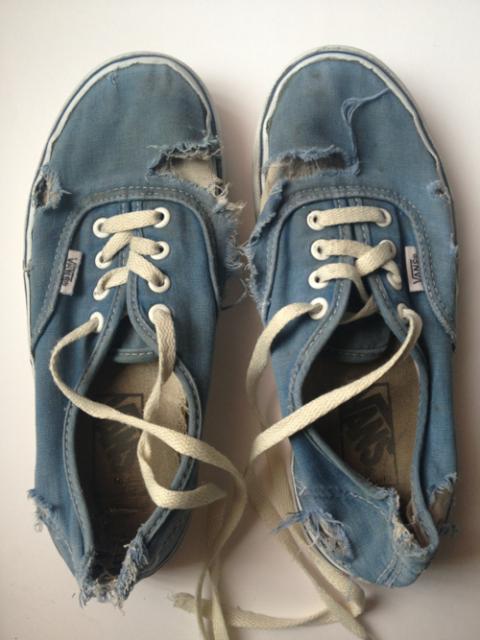 old vans shoes