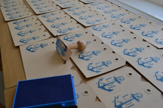 Working Sunday handmade businesscards preparing the upcoming fairs 2013 LONG JOHN (2)