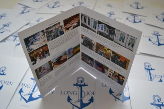 Working Sunday handmade businesscards preparing the upcoming fairs 2013 LONG JOHN (6)