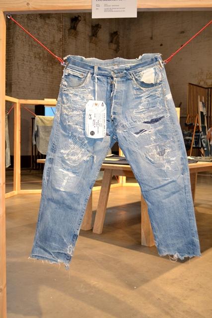 amsterdam denim days long john blog denham jason expo curated by wouter munnichs jeans denim workwear evis evisu levi's boro japan event gloves indigo pepe jeans minor big e (3)