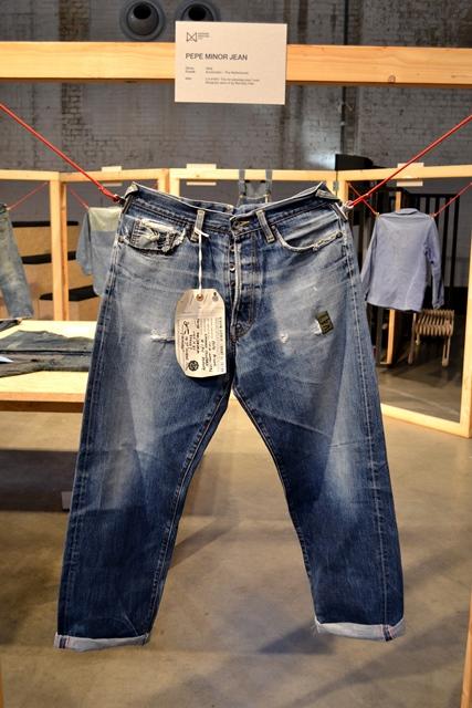 amsterdam denim days long john blog denham jason expo curated by wouter munnichs jeans denim workwear evis evisu levi's boro japan event gloves indigo pepe jeans minor big e (34)