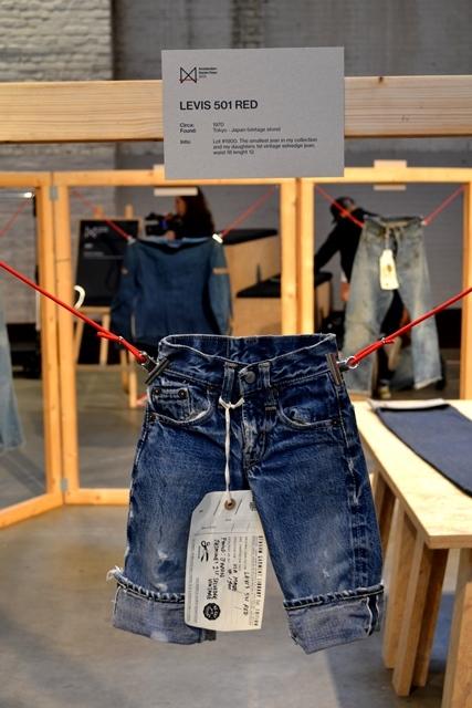 amsterdam denim days long john blog denham jason expo curated by wouter munnichs jeans denim workwear evis evisu levi's boro japan event gloves indigo pepe jeans minor big e (4)