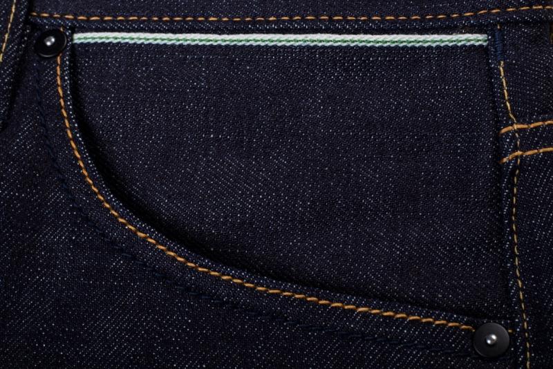 benzak denim developers bdd long john blog indigo collect mill japan jeans special fit 14oz selvage selvedge model white tee black 2016 lennaert nijgh leather patch (7)