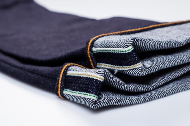 benzak denim developers bdd long john blog indigo collect mill japan jeans special fit 14oz selvage selvedge model white tee black 2016 lennaert nijgh leather patch (9)