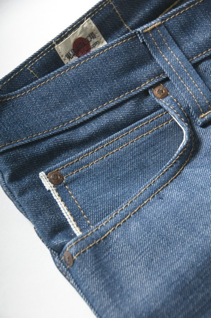 big john japan long john blog denim jeans regular straight selvage selvedge blue indigo rigid raw unwashed  (3)