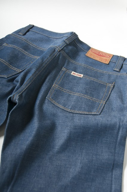big john japan long john blog denim jeans regular straight selvage selvedge blue indigo rigid raw unwashed  (6)