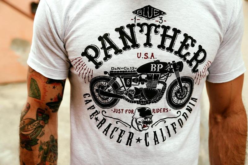 blue panther long john blog davide biondi graphic design italy bikes bikers jeans denim authentic handmade  (5)