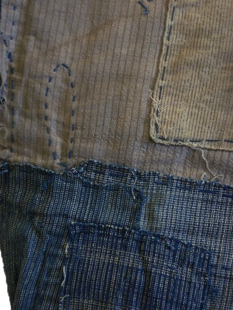 boro japan long john blog authentic patch repair clothing blue indigo workwear fisherman farmers  (9)