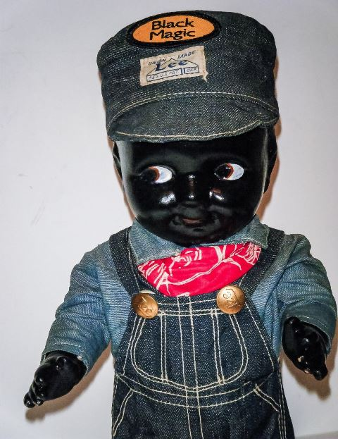 buddy lee black long john blog rare vintage original item lee jeans usa western doll 1920 (4)