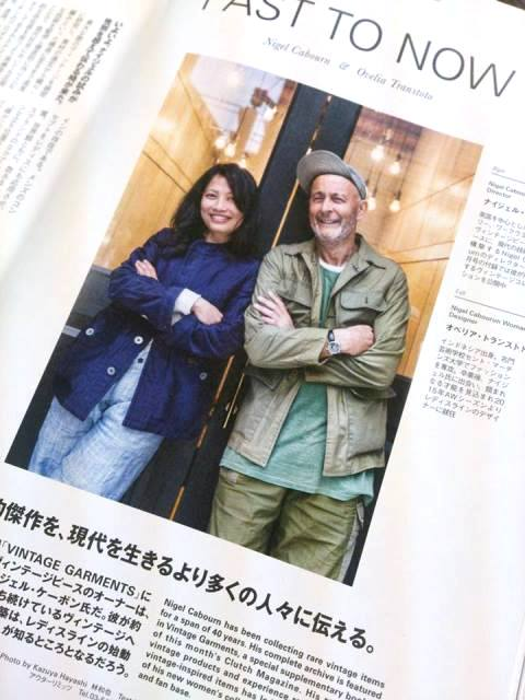 clutch japan magazine #40 long john blog may 2015 nigel cabourn issue vintage garments book issue special edition rare uk uk treasure hunting jackets army mag book (4)