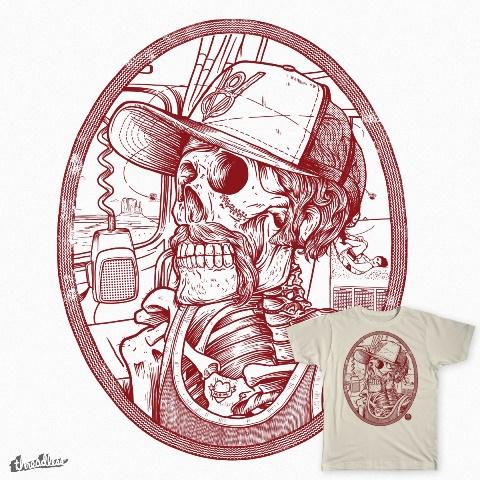 davide biondi long john blog creative graphic designer design sailor biker lumber jack jeans denim tattoo vintage old school paintings (1)