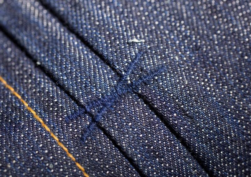 deadstock resurrection robert trucket jacket long john blog peter denim jeans selvage suger cane fabric holland handmade indigo blue blauw jas 2015 collection  (2)
