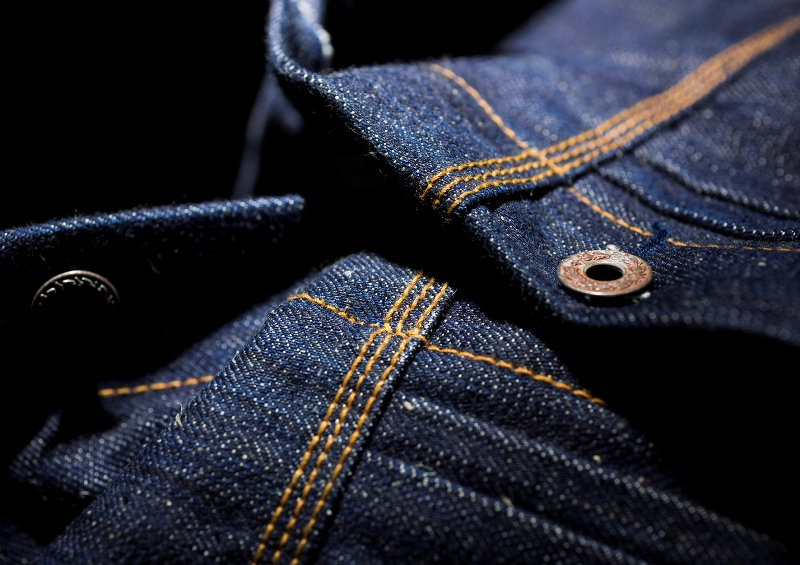 deadstock resurrection robert trucket jacket long john blog peter denim jeans selvage suger cane fabric holland handmade indigo blue blauw jas 2015 collection  (7)