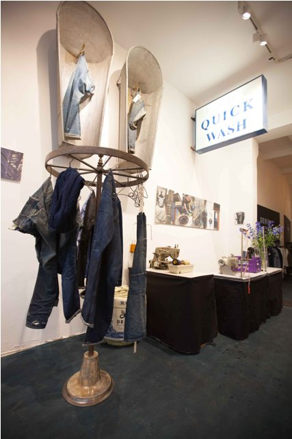 denham shop store berlin 14oz blueyard long john blog karl heinz muller jason denham jeans denim japan japanese selvage selvedge 2014 bread and butter opening invite new concept retail (3)