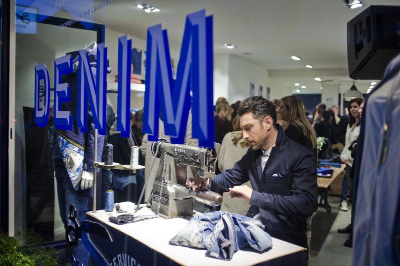 denham store antwerp long john blog 2015 jason denham jeans denim selvage selvedge rigid raw blue blauw spijkerbroek amsterdam store shop denham the jeanmaker opening  (13)