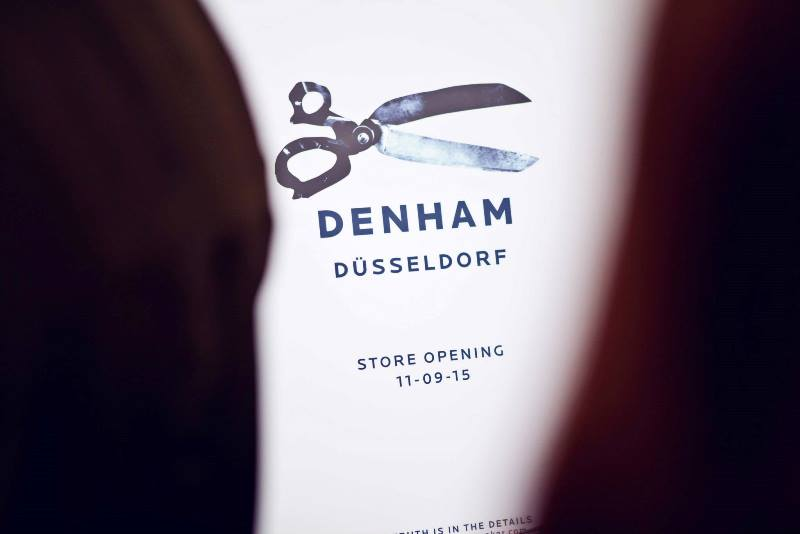 denham store dusseldorf september 2015 retail long john blog jeans denim winkel new nieuw clothing clothes blue indigo collection fall winter germany amsterdam (1)