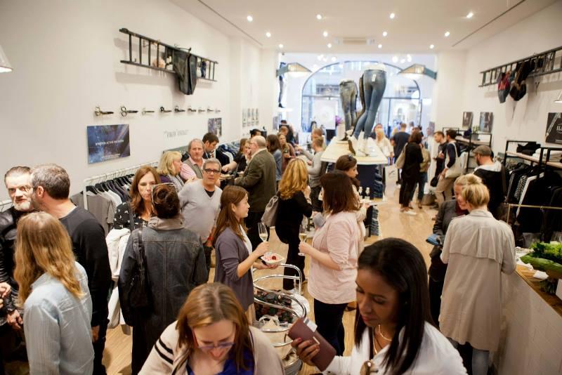 denham store dusseldorf september 2015 retail long john blog jeans denim winkel new nieuw clothing clothes blue indigo collection fall winter germany amsterdam (5)