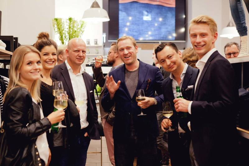 denham store dusseldorf september 2015 retail long john blog jeans denim winkel new nieuw clothing clothes blue indigo collection fall winter germany amsterdam (9)