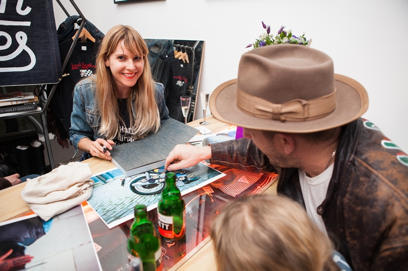 denim dudes event bolt london store long john blog amy leverton book launch shop jeans boys selvage selvedge vintage collectors designers vedett sailor jerry rum beer music people dude bandana (14)