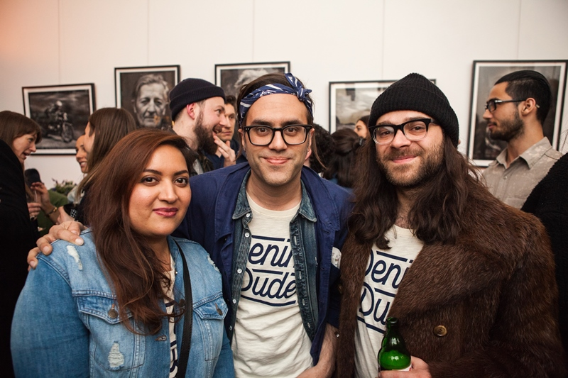 denim dudes event bolt london store long john blog amy leverton book launch shop jeans boys selvage selvedge vintage collectors designers vedett sailor jerry rum beer music people dude bandana (17)
