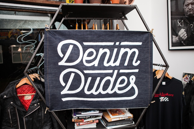 denim dudes event bolt london store long john blog amy leverton book launch shop jeans boys selvage selvedge vintage collectors designers vedett sailor jerry rum beer music people dude bandana blue magic (1)