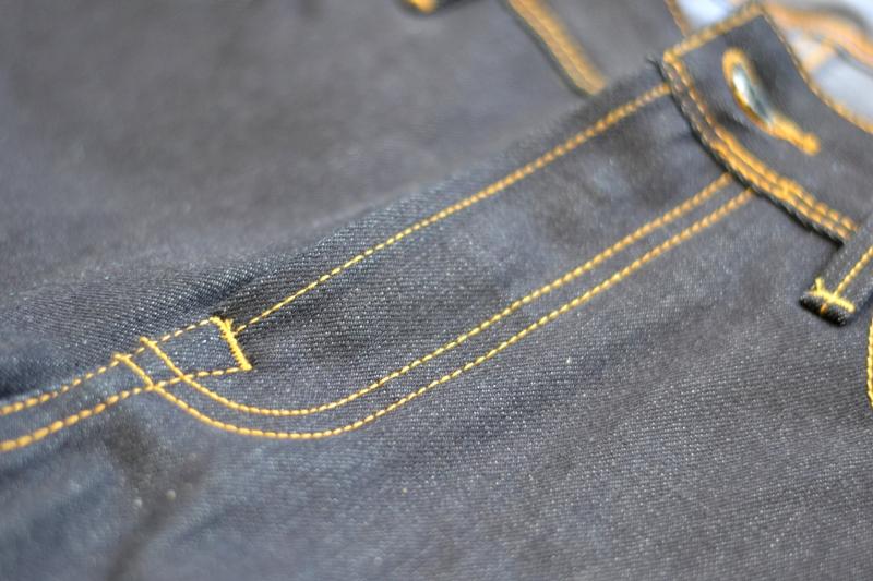 denim.lab denim lab long john blog sander van de vecht jeans denim blue blauw holland 5 pocket canvas bag totebag rigid raw unwashed selvage  (18)