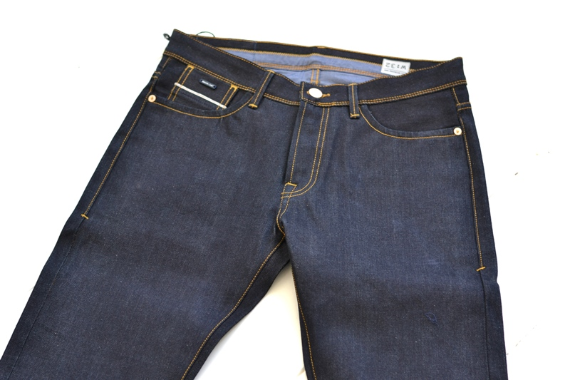 denim.lab denim lab long john blog sander van de vecht jeans denim blue blauw holland 5 pocket canvas bag totebag rigid raw unwashed selvage  (19)