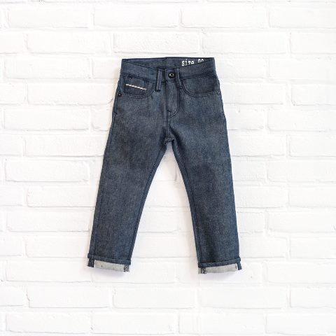 denimlab kids jeans denim long john blog selvage denim selvedge rigid stretch rigid unwashed dark blue (6)