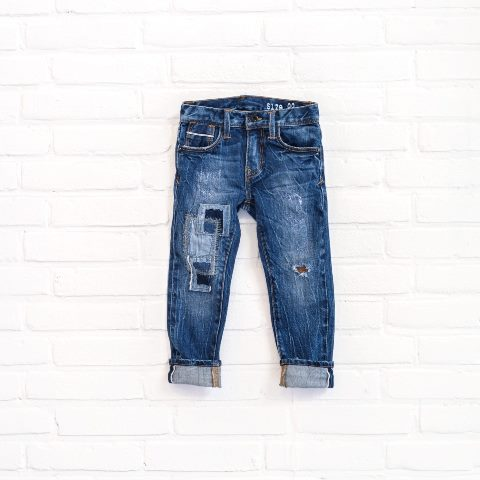 denimlab kids jeans denim long john blog selvage denim selvedge rigid stretch rigid unwashed dark blue (7)