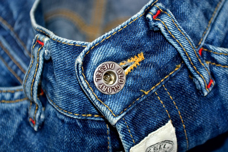 diesel old glory vintage long john blog labour denim jeans italy made 1994 blue indigo renzo rosso collection non selvage selvedge leather patch  (7)