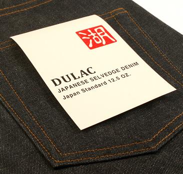 dulac denim jeans selvage long john blog raw rigid blue unwashed blue 5 pocket pocket flasher cone mills japan fabrics spijkerboek usa handmade authentic handgemaakt blauw  (11)
