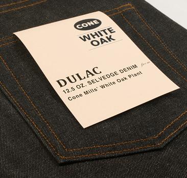 dulac denim jeans selvage long john blog raw rigid blue unwashed blue 5 pocket pocket flasher cone mills japan fabrics spijkerboek usa handmade authentic handgemaakt blauw  (5)
