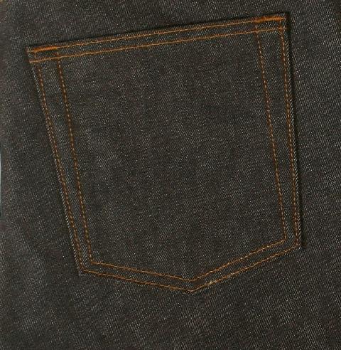 dulac denim jeans selvage long john blog raw rigid blue unwashed blue 5 pocket pocket flasher cone mills japan fabrics spijkerboek usa handmade authentic handgemaakt blauw  (6)