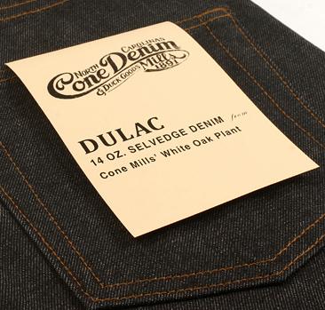dulac denim jeans selvage long john blog raw rigid blue unwashed blue 5 pocket pocket flasher cone mills japan fabrics spijkerboek usa handmade authentic handgemaakt blauw  (7)