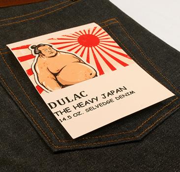 dulac denim jeans selvage long john blog raw rigid blue unwashed blue 5 pocket pocket flasher cone mills japan fabrics spijkerboek usa handmade authentic handgemaakt blauw  (9)