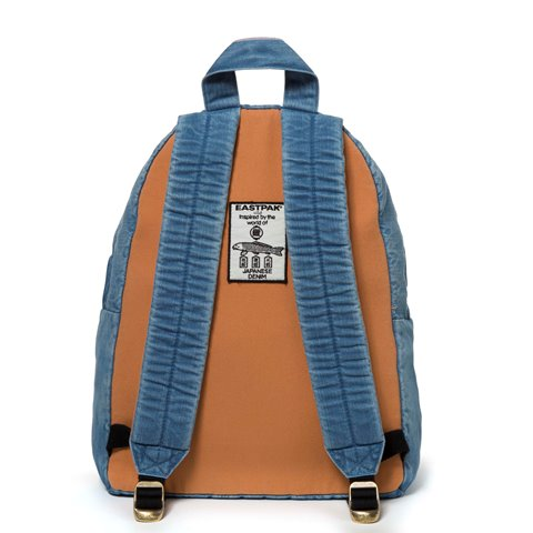 eastpak long john kuroki boro vintage special limited edition 2016 bag rugzak blue indigo patched patches east pak selvedge selvage  (12)