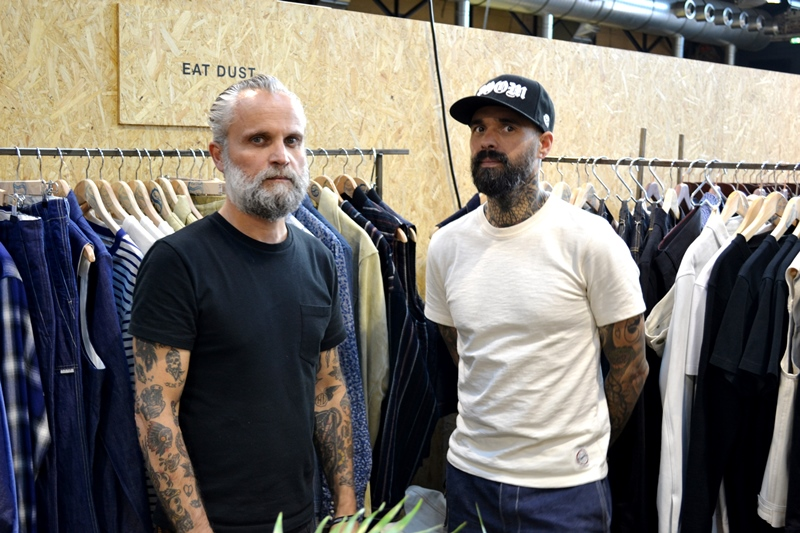 eat dust clothing bikers seek fair tradeshow long john blog denim jeans selvage belgium antwerp rob harmsen keith hioco blue unwashed rigid raw  (2)