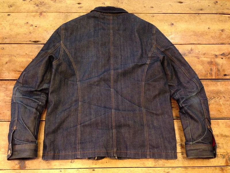 eat dust clothing jacket 673 long john blog vif jeans leon van bloem raw rigid japan selvage blue unwashed worn-out faded shuttle loom slow denim (1)