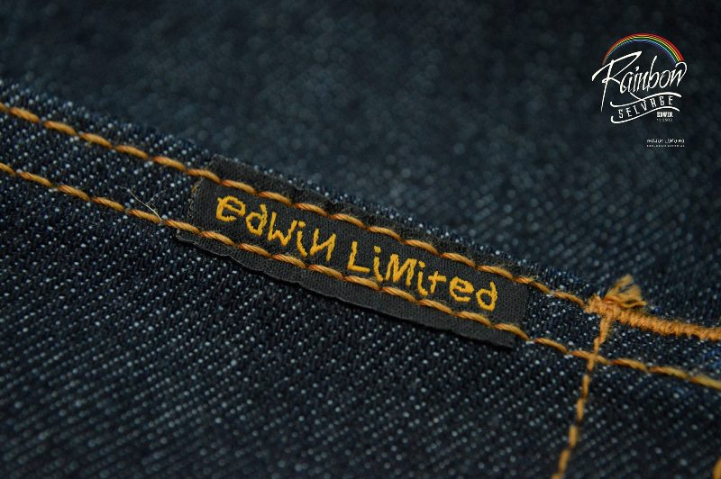 edwin jeans long john blog selvage selvedge rainbow colours 2016 limited edition special leather patch label natural blue indigo edwin malysia (11)