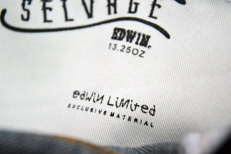 edwin jeans long john blog selvage selvedge rainbow colours 2016 limited edition special leather patch label natural blue indigo edwin malysia (4)