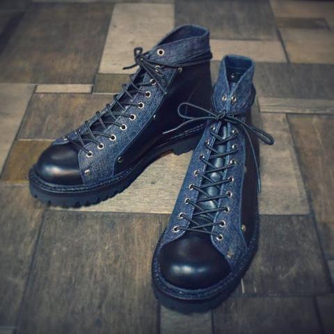 evisu jeans genes long john blog footwear shoes jeans denim wingtip classic men blue classic dandy herenschoen spijkerstof  (2)