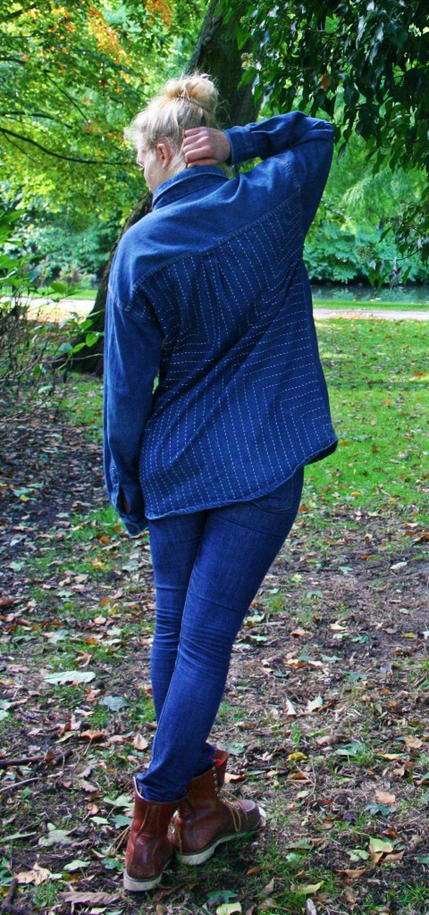 facing west amsterdam lizzie kroeze long john blog blue sashiko japan stiching authentic raw fisherman farmers repair fabric jeans denim rigid handmade patch work limited edition original (6)