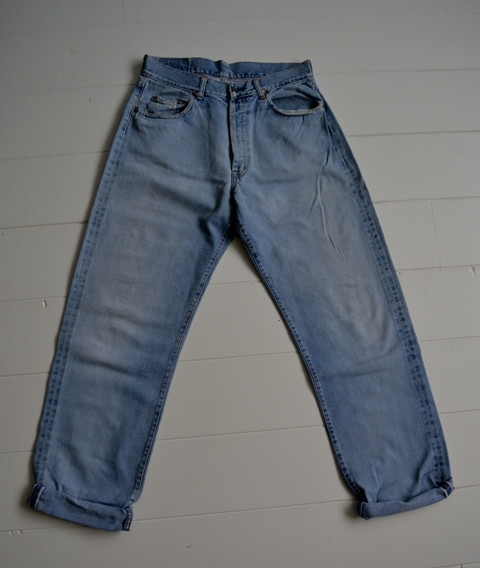 gapstar g-star us second us lumber jeans denim long john blog amsterdam nl holland pants vintage selvage selvdge red line left hand fabric soft  (13)