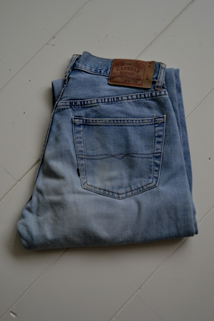 gapstar g-star us second us lumber jeans denim long john blog amsterdam nl holland pants vintage selvage selvdge red line left hand fabric soft  (9)